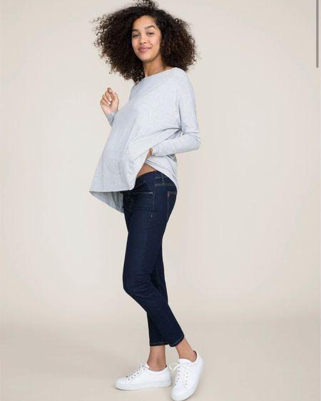 Maternity jeans http://liketk.it/30hK3 @liketoknow.it #liketkit #LTKbump #LTKstyletip