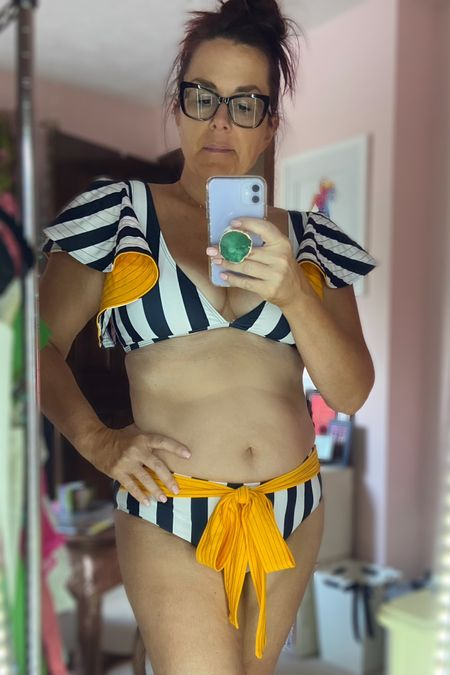 You guys I am cynical of ALL products that Facebook suggests, but I totally fell for this @sporlike bikini!  I love how unique it is, love the fit (high waist thank you, and their prices are FABULOUS   I linked to the Amazon shop and you can see the links on my bio page, shop here http://liketk.it/3iu4d or Follow me on the LIKEtoKNOW.it shopping app to get the product details for this look and others     #liketkit @liketoknow.it #LTKunder50 #LTKstyletip #LTKswim