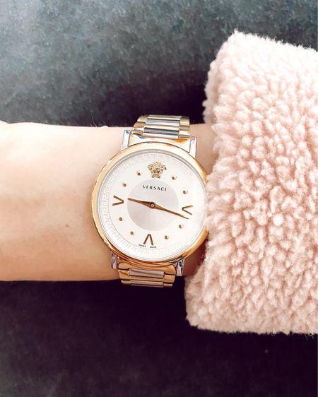 Love a good Versace watch, especially when it's on sale!   http://liketk.it/2Y9Qh #liketkit @liketoknow.it #LTKsalealert