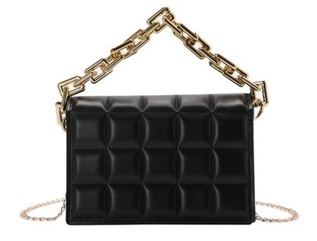 Okay I am ALL about this designer inspired black bag!!! It's so chic!!! And it's under $30!!!!!!! + comes in a ton of different colors!   #LTKitbag #LTKGiftGuide #LTKstyletip