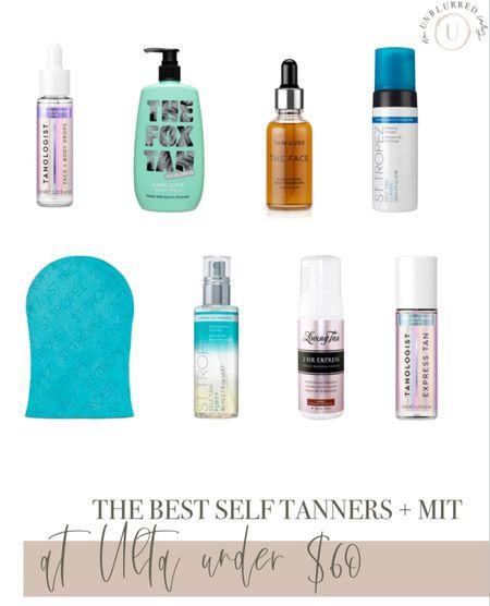 Summertime tan must haves! Best self tanners and mit at ulta under $60!   #LTKstyletip #LTKSeasonal #LTKbeauty