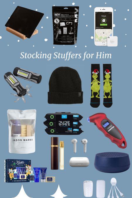 http://liketk.it/3445W #liketkit @liketoknow.it #LTKgiftspo #LTKmens #giftsforhim #stockingstuffersforhim Stocking Stuffers for Him
