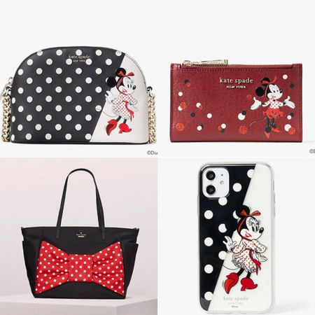 This Disney collection for Kate Spade is adorable! They're doing a Mother's Day discount code (code FORMOM for 30%), but this collection is not a part of it. #katespade #katespadeny #minniemouse #polkadot #disney #mothersday #LTKitbag #LTKsalealert #LTKunder100 #liketkit @liketoknow.it http://liketk.it/3ekWV