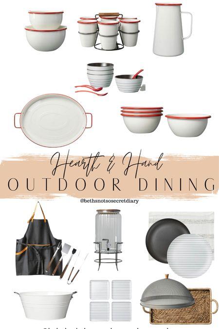 Hearth & Hand Summer Outdoor Dining http://liketk.it/3dSdH #LTKhome #LTKfamily #LTKunder50 #liketkit @liketoknow.it @liketoknow.it.home @liketoknow.it.family