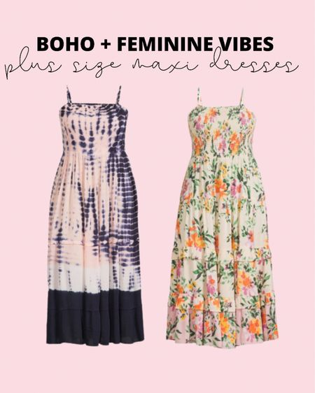These plus size maxi dresses are perfect summer outfits! Plus size fashion doesn't have to be boring!   #LTKcurves #LTKunder50 #LTKstyletip