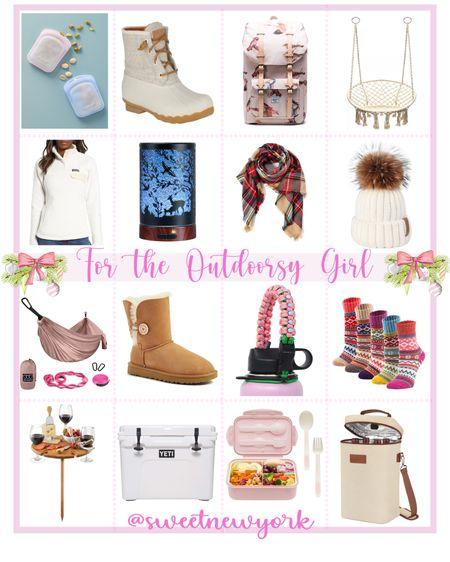 Gift guide for wonen gifts for the outdoorsy nature girl http://liketk.it/31I6f #liketkit @liketoknow.it #LTKgiftspo #LTKstyletip #LTKunder100