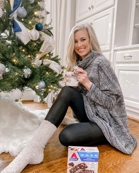 Cozied up with a yummy (guilt Free) snack! These socks make the best Christmas gifts btw 👏🏻💯🙌🏻   Shop your screenshot of this pic with the LIKEtoKNOW.it shopping app http://liketk.it/341pi @liketoknow.it @liketoknow.it.home #liketkit #LTKgiftspo #StayHomeWithLTK #LTKunder100