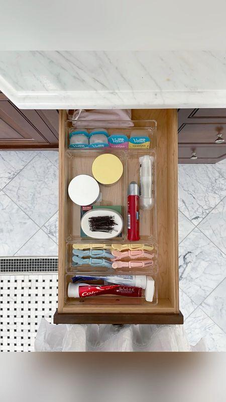 I had one disorganized bathroom drawer…but not anymore!    #LTKbeauty #LTKfamily #LTKhome