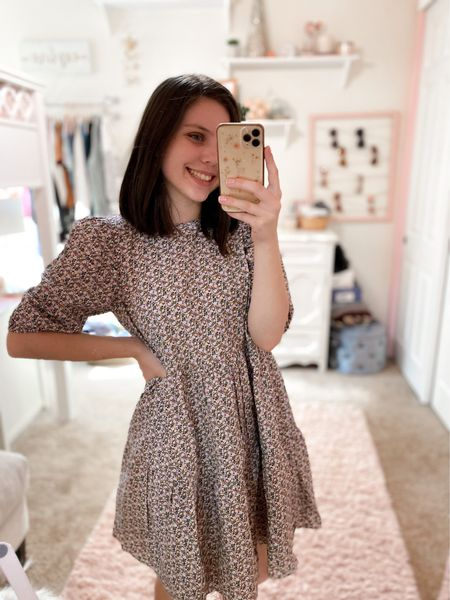 Loving this Nordstrom dress! Such a gorgeous print and design, fits true to size too. #nordstrom #dress #outfitinspo   #LTKSeasonal #LTKstyletip #LTKunder100