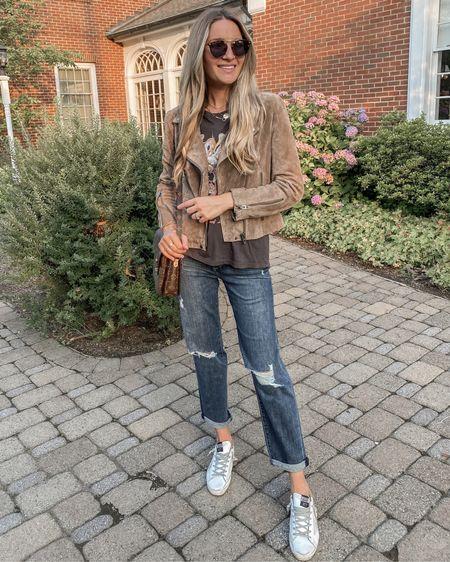 Nsale fall outfit ideas 2021! In stock jacket and jeans. http://liketk.it/3kIYZ @liketoknow.it #liketkit