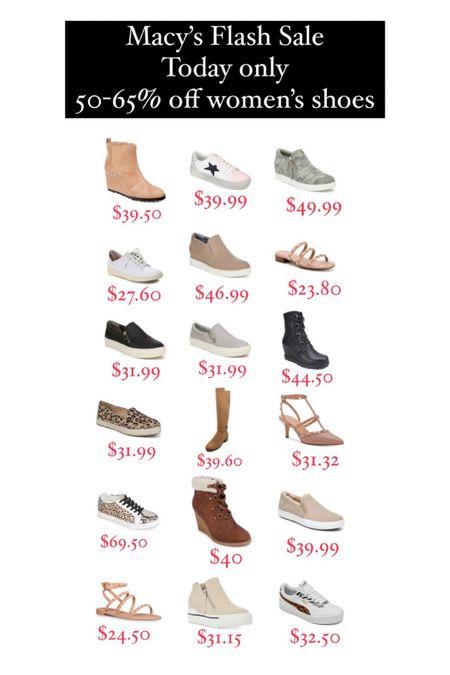 Macy's flash sale  #LTKshoecrush #LTKunder100 #LTKunder50