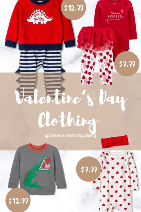 Infant and toddler Valentine's Day outfit. http://liketk.it/35fcV #liketkit @liketoknow.it #LTKNewYear #LTKbaby #LTKkids @liketoknow.it.brasil @liketoknow.it.family @liketoknow.it.europe @liketoknow.it.home You can instantly shop my looks by following me on the LIKEtoKNOW.it shopping app