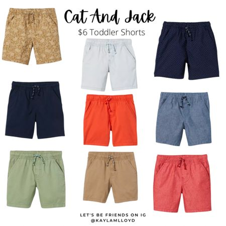 $6 toddler shorts // toddler // clothing sales // we have them in every color! http://liketk.it/3fgQo @liketoknow.it #liketkit #LTKsalealert #LTKunder50 #LTKkids