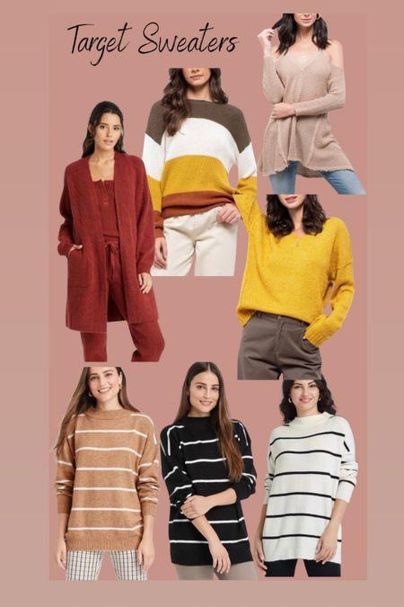 Sweaters from target all under $30   #LTKstyletip #LTKSeasonal #LTKHoliday