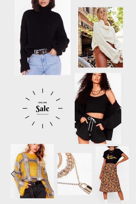Major sales at Nasty Gal! 50% off! Only 12 more hours! So many cute sweaters, jackets and boots! #liketkit http://liketk.it/2X3DD @liketoknow.it #LTKunder100 #LTKsalealert #LTKstyletip @liketoknow.it.family @liketoknow.it.home @liketoknow.it.brasil @liketoknow.it.europe Shop my daily looks by following me on the LIKEtoKNOW.it shopping app