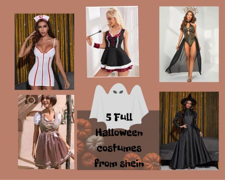 5 MORE HALLOWEEN COSTUMES FROM SHEIN!🎃 (some are similar) Fall vibes, Halloween costume ideas, Halloween costume, Halloween 2021, fall ootd, fall vibes   #LTKfit #LTKHoliday #LTKSeasonal