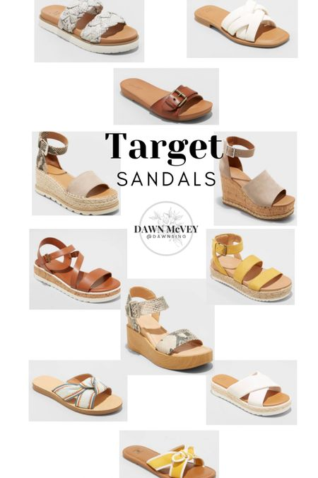So many cute new sandal options at Target for Spring! Linking up some of my favorites! http://liketk.it/3dUoK #liketkit @liketoknow.it #sandals #spring #springshoes #shoes #LTKshoecrush #LTKunder50 You can instantly shop my looks by following me on the LIKEtoKNOW.it shopping app