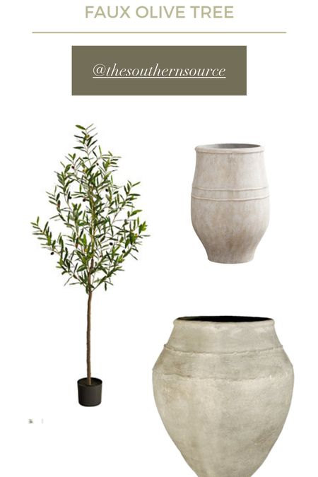 Faux olive tree ON SALE for under $125! Pair it with a large terracotta planter. One of these is massive at 39 inches tall and i think the price is fair. Another great option it 21 inches tall for under $250. A big nice planter will really elevate the look of your space   #LTKsalealert #LTKhome