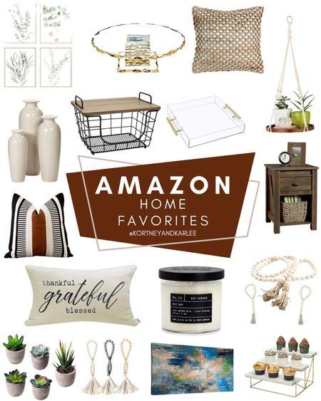 Amazon Home Favorites!  Amazon home decor | amazon home decor favorites | amazon home | amazon finds | amazon favorites | amazon home finds | amazon home finds | amazon prime | amazon finds for the home | amazon home favorites | must haves for the home | amazon must haves for the home | Kortney and Karlee | #Kortneyandkarlee #LTKunder50 #LTKunder100 #LTKsalealert #LTKstyletip #LTKSeasonal #LTKhome @liketoknow.it #liketkit