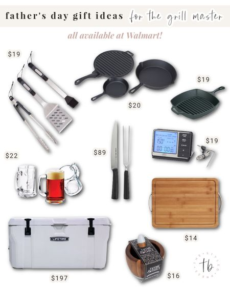 Father's day gift guide, Father's Day gifts, grill gifts, grill master, grilling tools, cook gifts, Walmart Father's Day gift guide, Walmart finds @liketoknow.it #liketkit http://liketk.it/3hggx #LTKfamily #LTKmens #LTKhome