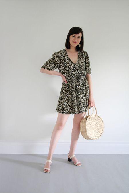 Style Theme - Dresses - Look 1  Dress old Faithfull the Brand Sandals old Everlane Bag by Artisan & Fox
