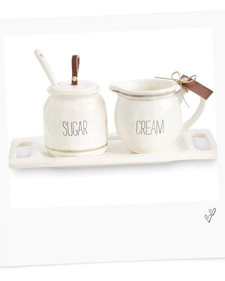 Mud pie bistro cream and sugar @liketoknow.it #liketkit http://liketk.it/2WtMC