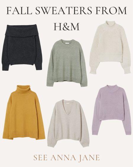 Fall Sweaters I'm Shopping From H&M ✨  #newarrivals #hmfashion #hmsweater #fallsweater #fallstyle #fallfashion #neutralfashion #fallclothing #affordablefashion  #LTKstyletip #LTKunder100 #LTKSeasonal