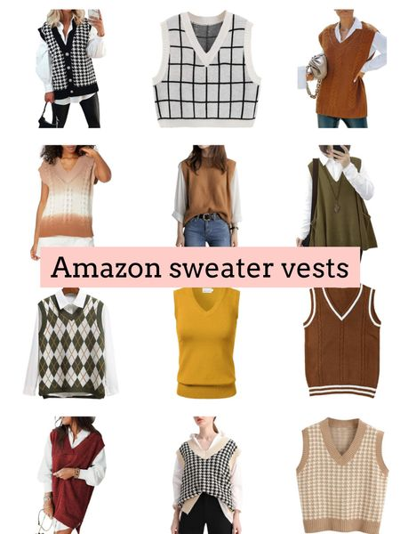 Sweater vests   #LTKSeasonal #LTKstyletip #LTKunder50