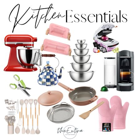 These are the top kitchen essentials you NEED to have the most efficiently working kitchen!  #LTKhome #LTKstyletip #LTKSeasonal