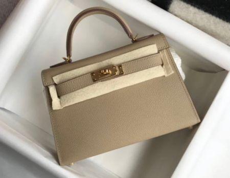Beautiful leather Kelly style bag.   #LTKGiftGuide #LTKitbag #LTKstyletip