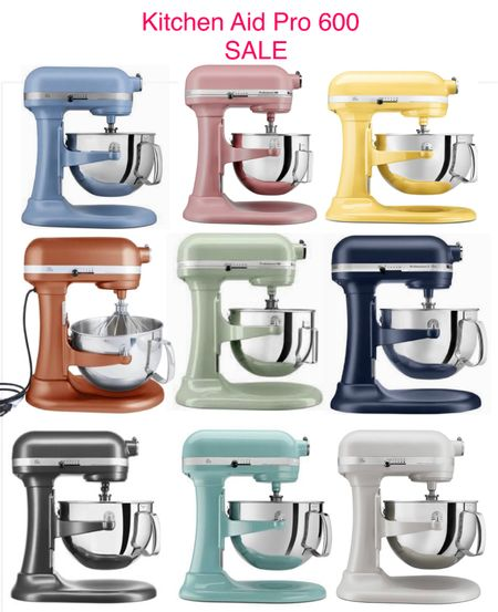 """KITCHEN AID PRO 600- 6qt stand mixer on major sale. Normally $429.  SALE PRICE $369.98 Use code """"HOLIDAY"""" - $15 off a minimum purchase of $35 purchase! First time customers only! There is no end date on this code.  code """"HELLO10"""" -$10 off a purchase of $25 or more! There is no end date on this code. Second time customers only.  Kitchen/home gifts Holiday baking    #LTKhome #LTKsalealert #LTKGiftGuide"""