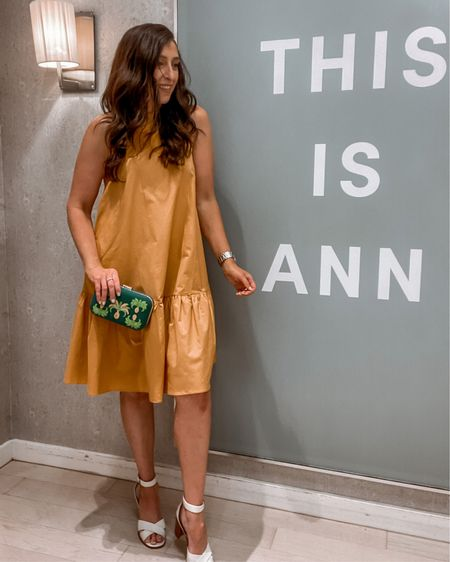 Ann Taylor dropped waist dress  http://liketk.it/3iEMS #liketkit @liketoknow.it #LTKstyletip #LTKcurves #LTKwedding