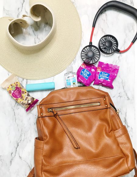 My Summer day trip backpack purse and the items that go in it. #summertrip http://liketk.it/3ghaV #liketkit @liketoknow.it