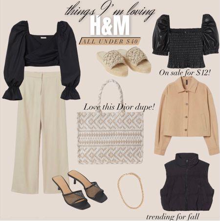 H&M gift guide / neutral style / Dior dupe / summer style   #LTKstyletip #LTKunder50 #LTKsalealert