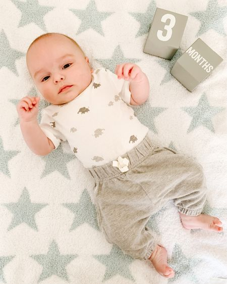 Baby boy outfit. Boy outfit. Elephant onesie. H&M kids. Shop my daily looks by following me on the LIKEtoKNOW.it shopping app http://liketk.it/3fJri #liketkit @liketoknow.it #LTKbaby #LTKfamily #LTKkids