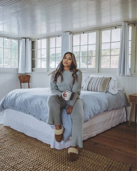 Covid transformed my closet to a loungewear store. Can anyone else relate? I wear jeans like twice a month now. Thanks to my addiction I've found some of the softest and coziest lounge attire for amazing prices. This fuzzy PJ set is a recent purchase that has my stamp of approval. It comes in 4 colors too! // #liketkit #LTKunder50 @liketoknow.it http://liketk.it/37m4J
