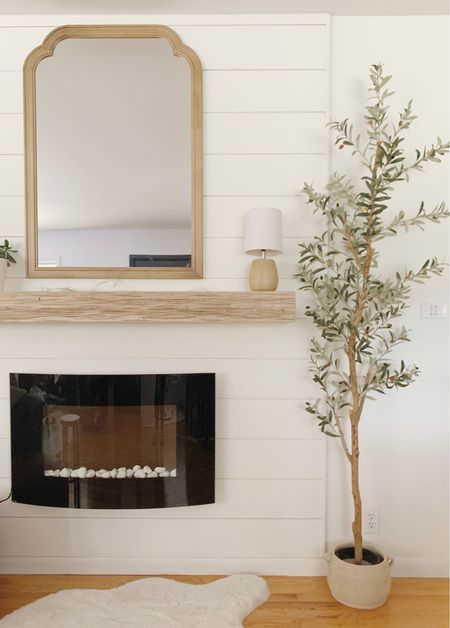 Fireplace decor   #LTKhome #LTKunder100 #LTKstyletip