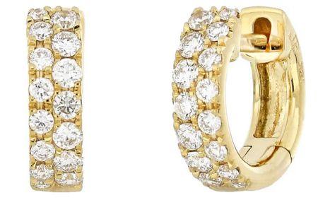 Katharine Diamond Huggie Hoop Earrings on sale at Nordstrom! #NSALE   #LTKstyletip #LTKwedding #LTKsalealert