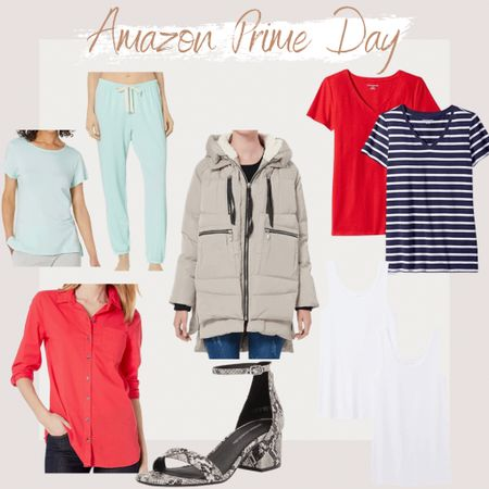 http://liketk.it/3i1RE #liketkit @liketoknow.it #LTKsalealert Amazon Prime Day, Prime Day 2021, Amazon Fashion, Found it On Amazon, Amazon, Amazon Finds, Summer Styles, Summer Outfit, Casual Outfit, Cute styles, effortless styles, trendy styles, tee-shirt dress, t-shirt dress, basic t shirts, lounge styles, vacation outfits, maxi dress, look for less, crew neck tee, classic shirt sleeve shirt, lounge clothes, orolay women's thickened down jacket, winter coat, low heeled sandal, work attire shirt, business button down shirt for women, lounge joggers, slim fit tank,