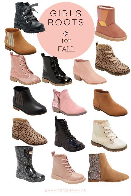Girls boots, fall, target, old navy, boots  #LTKSeasonal #LTKkids #LTKbacktoschool