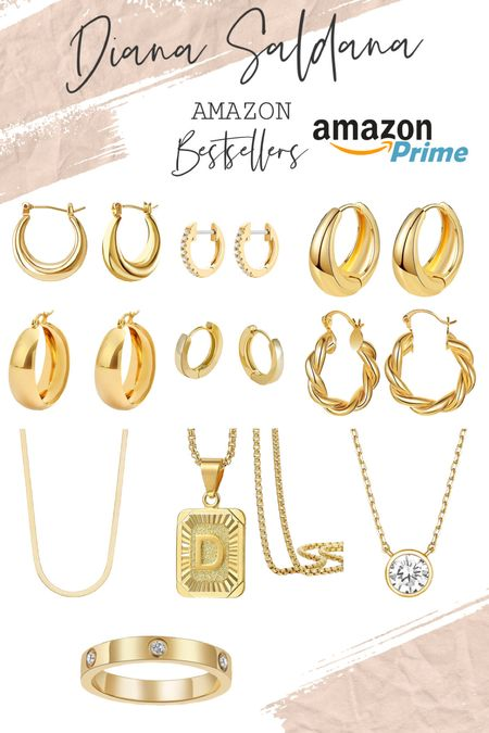 Best selling jewelry from amazon. All have Amazon prime delivery. Linking here. Stay tuned for Amazon Jewelry haul on Instagram stories.   #LTKbeauty #LTKsalealert #LTKunder50