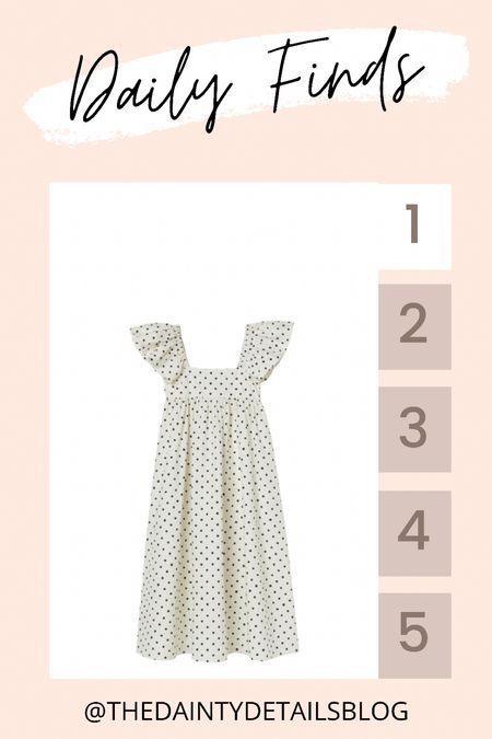 Daily finds: cutest polka dot dress!   #LTKstyletip #LTKunder100 #LTKunder50