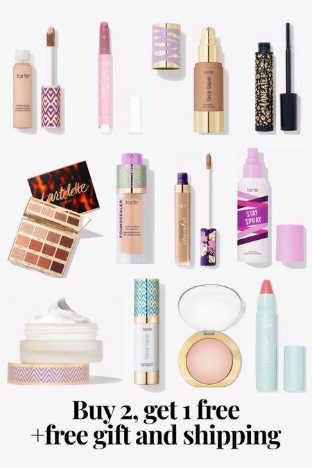 Tarte cosmetics buy 2, get one free  #LTKbeauty #LTKsalealert
