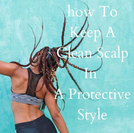 lot of us will be heading out to fun vacations and many will be opting for protective styles. First thing first, clean hair and a clean scalp are necessary components of healthy hair that will thrive.   Dry flakes, dirt, clogged pores are all issues you can find causing real damage if you don't keep your scalp clean when hair is in a protective style like braids, under a sew-in and and the like. Check out some real winners for keeping clean scalp when hair is in a protective style that you can buy online so you don't have to leave the house!   #cleanscalp #naturalhair #protectivestyle #braids #boxbraids #weaves #wigs #teamnturalhair #curlyhair #africanpride #cantu #hairfinity #girlandhair #taliahwaajid #alikaynaturals