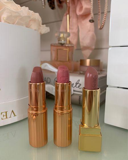 My three favorite everyday lipsticks!m for fair/light skintones   Favorite your lips but better lip color: pillow talk Favorite pink lipstick: liv it up Favorite nude lipstick: YSL #10 and NARS cruisin.   http://liketk.it/2MEKg #liketkit @liketoknow.it #LTKunder50
