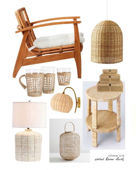 This week #ontheblog I'm sharing some of my favorite woven home decor pieces. Summertime is the ideal season to create your own oasis at home and bring the outside in with the natural beauty of some textural pieces. From lights and furniture, to accents and serveware, these items are so beautiful! Head to vilmairis.com or click the link in bio!  http://liketk.it/3iF5D #liketkit @liketoknow.it #LTKhome