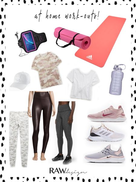 Anyone else focusing on fitness since we have so much extra time?? I know I am!! Sharing some adorable AND affordable items for at home work outs while we are stuck at home! ✨ /// http://liketk.it/2MEzU @liketoknow.it #liketkit #StayHomeWithLTK #LTKspring #LTKunder100