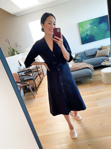 Try on session! An easy sweater dress - so comfortable and easy to wear!  #LTKworkwear #LTKstyletip