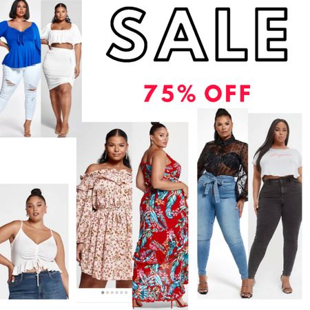 Everything linked is 75% off!! This is a sale my plus size and curvy friends are not going to want to miss!! Some items under $10!!!   Labor Day sale Plus size sale  Wedding guest dresses, plus size fashion, home decor, nursery decor, living room, backyard entertaining, summer outfits, maternity looks, bedroom decor, bedding, business casual, resort wear, Target style, Amazon finds, walmart deals, outdoor furniture, travel, summer dresses,    Bathroom decor, kitchen decor, bachelorette party, Nordstrom anniversary sale, shein haul, fall trends, summer trends, beach vacation, target looks, gap home, teacher outfits   #LTKunder50 #LTKcurves #LTKsalealert