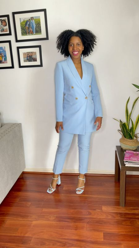 Spring is here and it's the perfect time of year for a pastel suit!     #LTKunder100